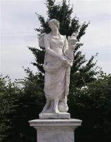 Statue de l'Asie