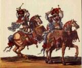 Timbales : devenues un instrument de base de l'orchestre classique au XVIIe siècle, elles sont constituées d'un fût en cuivre couvert d'une peau (Timbales à cheval, Carrousel de Louis XIV)