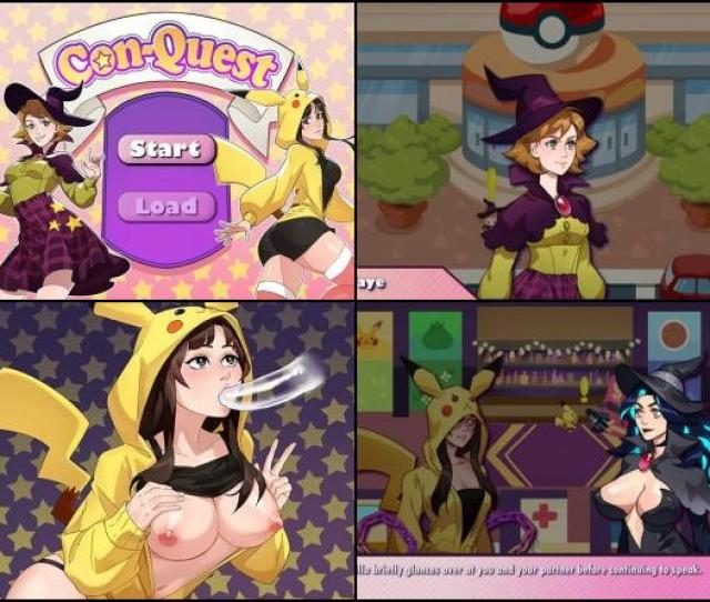Poke Con Part 1 Is A Explicit Comedy Rpg As Author Says This Game