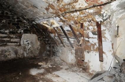 Die Keller der Seifensiederei Speick dienten im 2. Weltkrieg als Luftschutzräume.