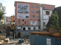 Dieses Gebäude blieb als einziges vom Speick-Areal erhalten.