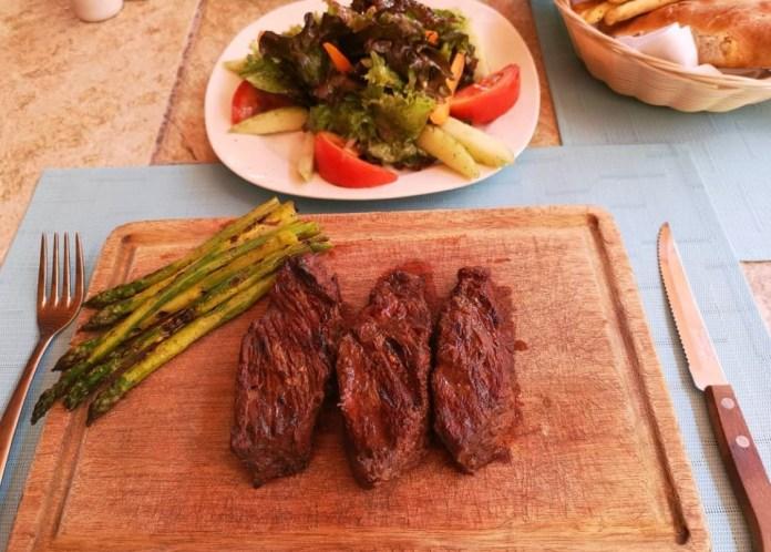 Argentinian Steak in Oaxaca