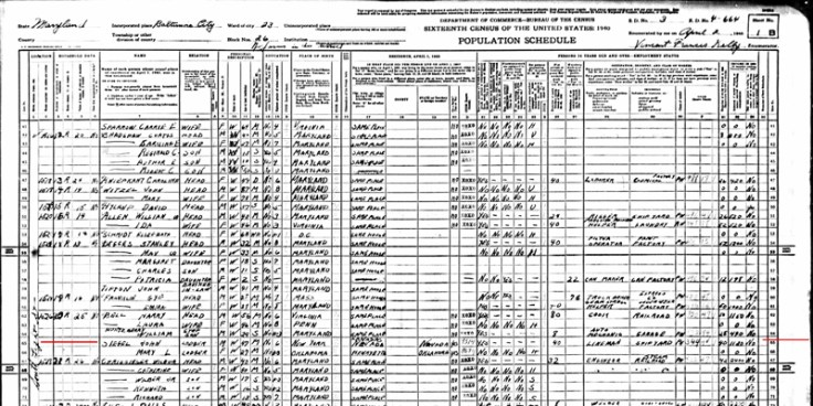 Recent US census records