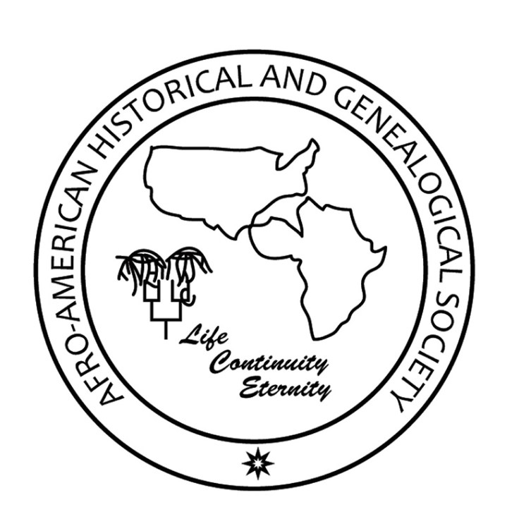 the logo for the afro-american historical and genealogical society