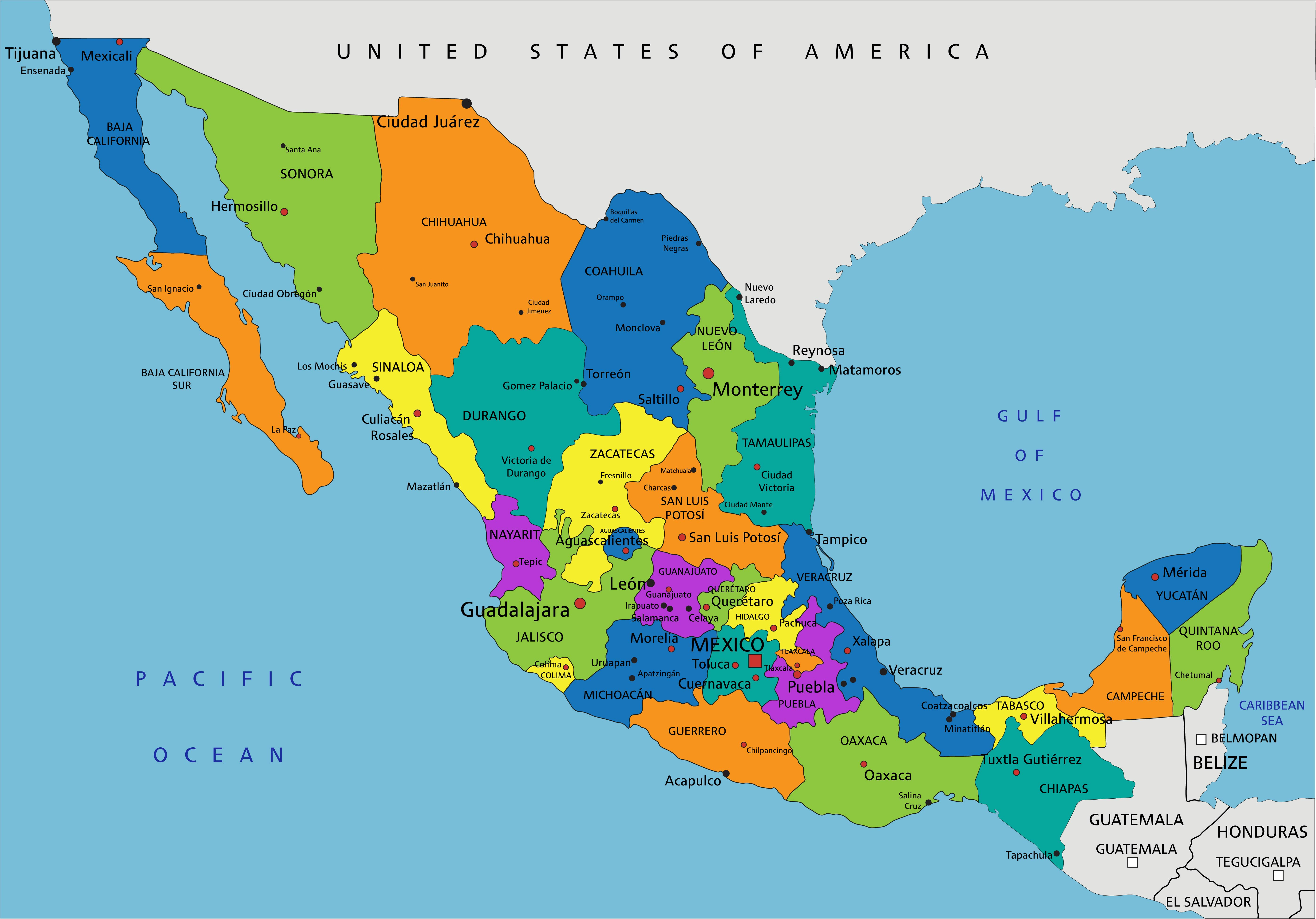 Indigenous Tribes Of Mexico Map.Getting Started On Your Mexican Research Familysearch Blog