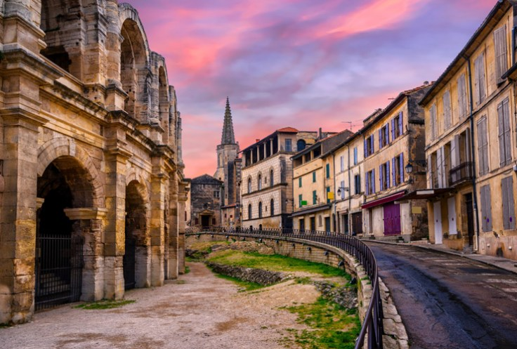 Arles, a picturesque french city