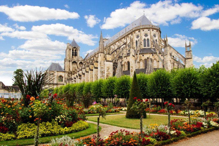 the Bourges cathedral in france