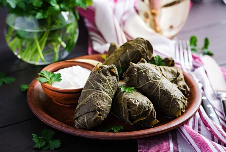 Dolma, an Armenian dish