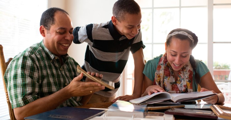 Learn true and inspiring stories about your family through journals, letters, and other resources.