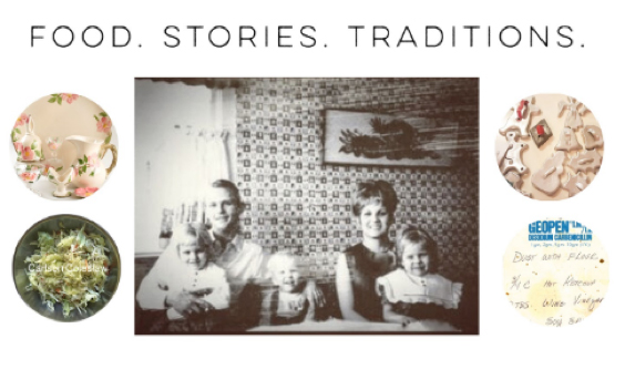 Bring family together with food to do family history work.