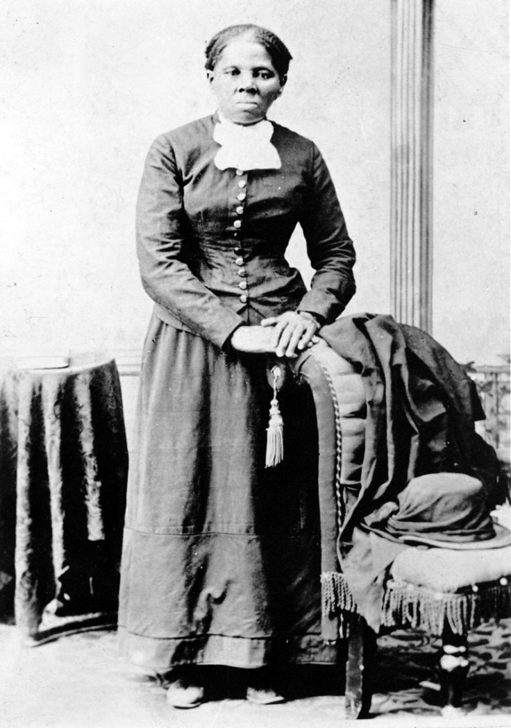 a picture of Harriet Tubman.