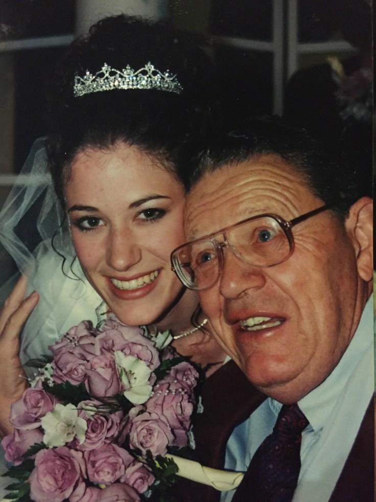 Jana Greenhalgh and Her Grandpa Ferril Losee
