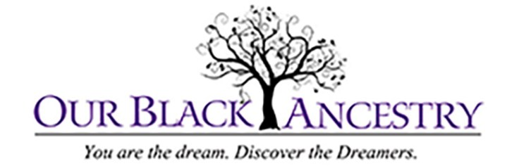 the logo for black ancestry