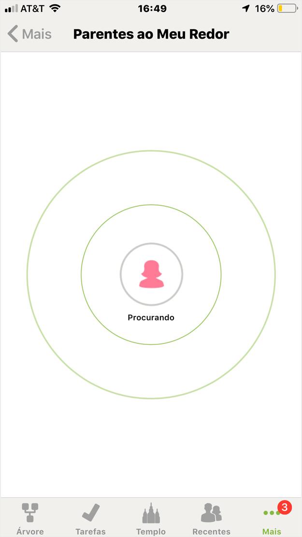 localizador de parentes (iOS)