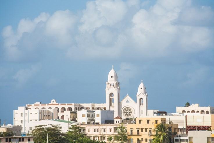 A catholic church in puerto Rico.