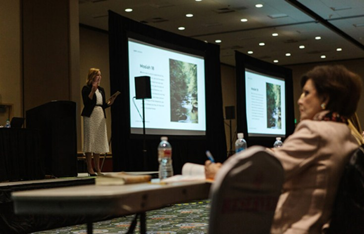 A presentation at RootsTech 2020