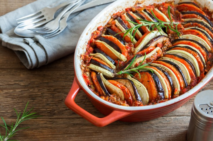 ratatouille, a french entree
