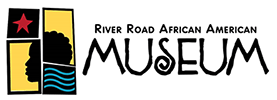 the logo for the african name museum