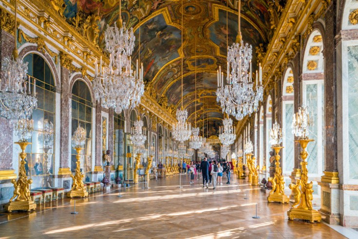 Palace of Versailles in France