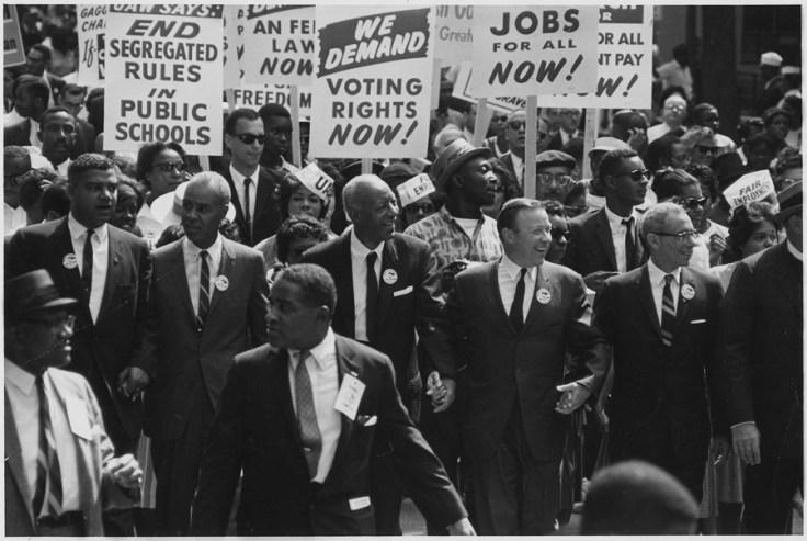 not-so-silent generation marching  on Washington