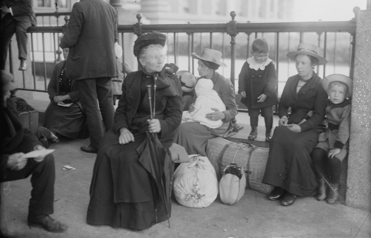 A Dutch family of immigrants that passed through the Ellis Island immigration station.
