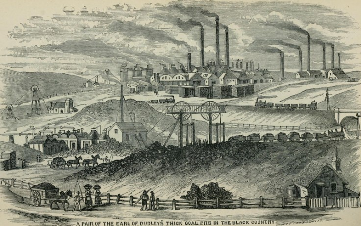 the industrial revolution in England.