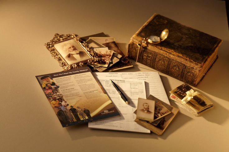 preserve family artifacts and documents