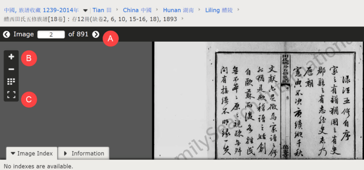 Chinese Jiapu records on FamilySearch