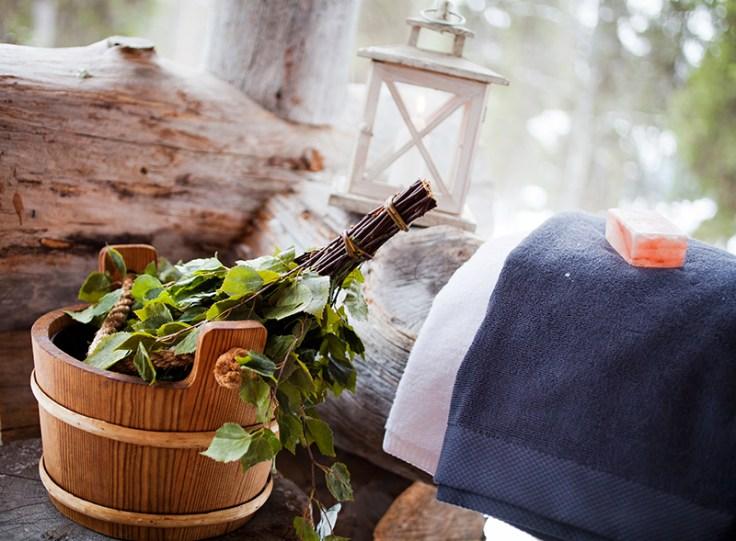 equipment used in a finnish sauna