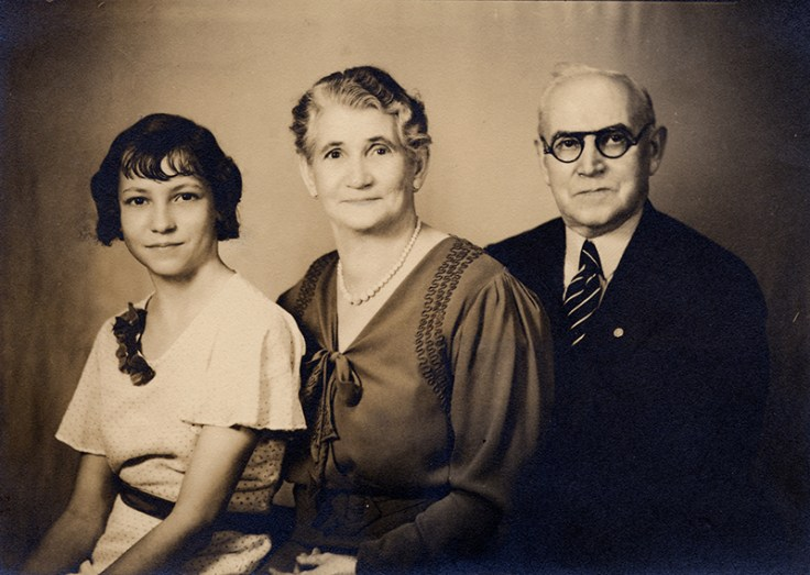 a French family with records in an archive