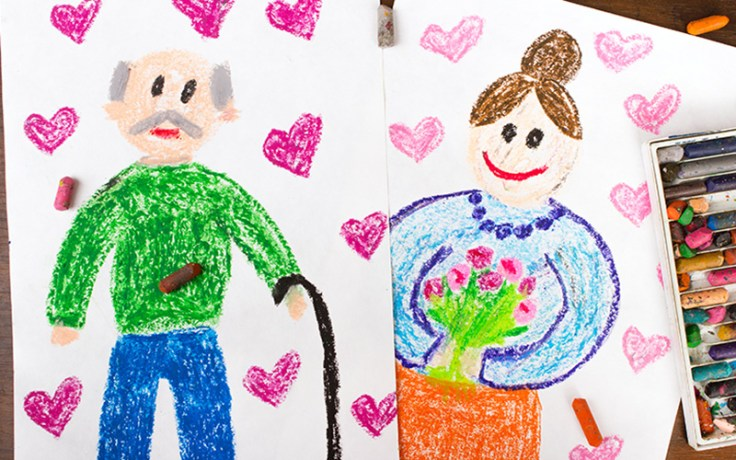 About 4 million greeting cards are send each year for Grandparents Day in the U.S.
