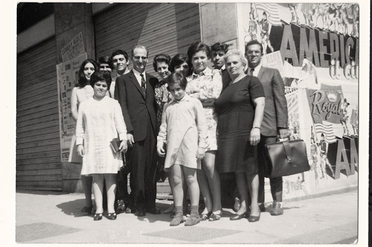 an italian family with records in an archive