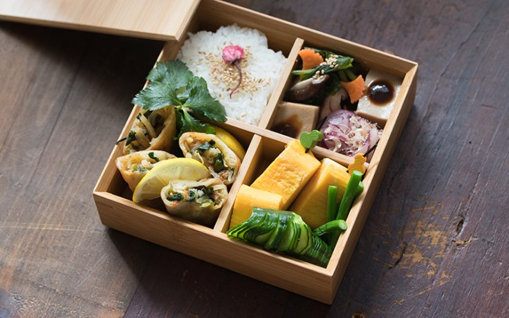 bento, a traditional japanese lunch box