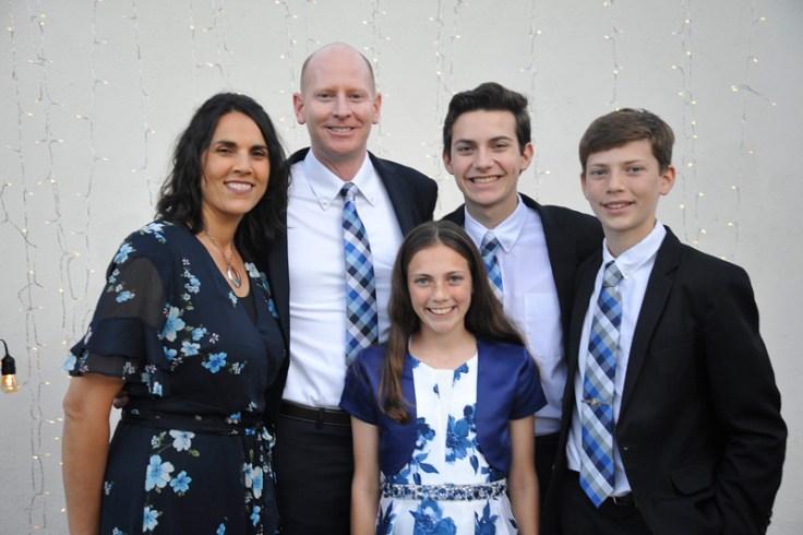 luke morrison with family