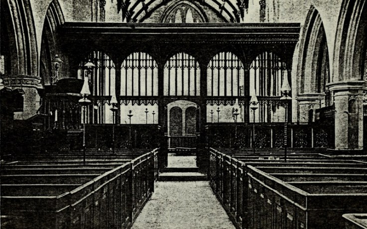 An illustration of Camel Church found in New York Genealogical and Biographical Society Records.