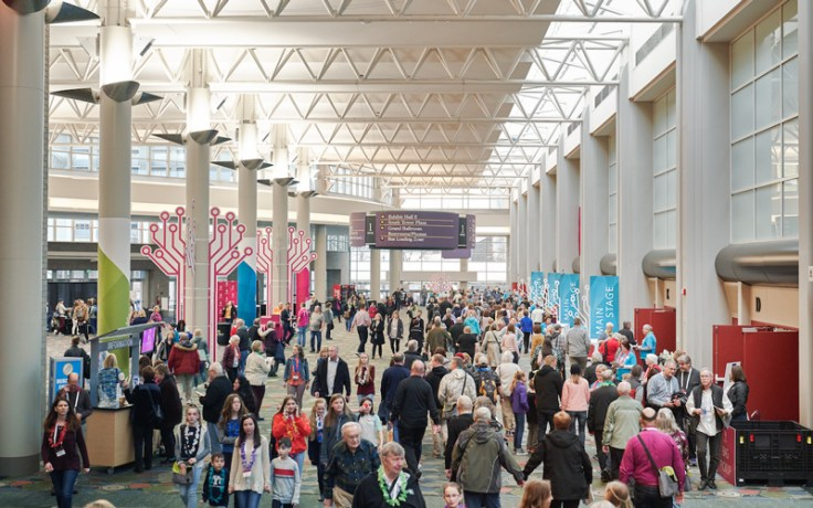 Rootstech 2019 hallway