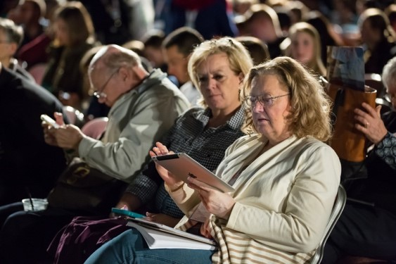 A laptop, tablet, or smartphone is essential for most RootsTech attendees.