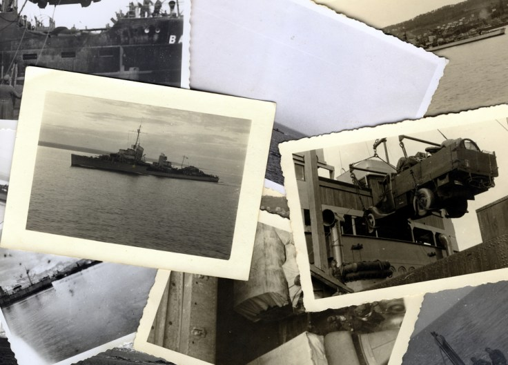 From 31 WWII rolls from over 70 years ago, wonderful images emerged from the developing tank