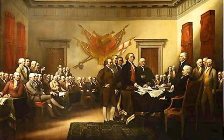 The signing of the Declaration of Independence marks the beginning of America's independence on July 4th, 1776.
