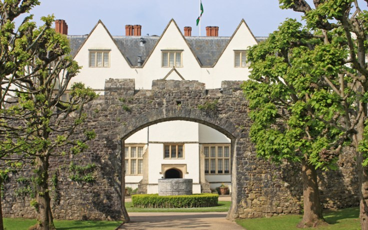 St. Fagans National Museum of History, Cardiff, Wales - Castle