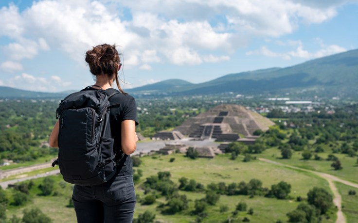 Teotihuacan, another of the best places to go in Mexico