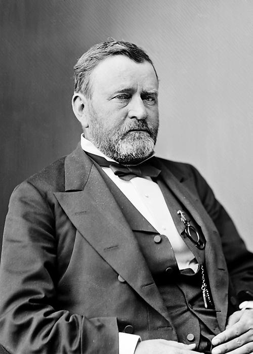 Portrait of President Ulysses Grant.