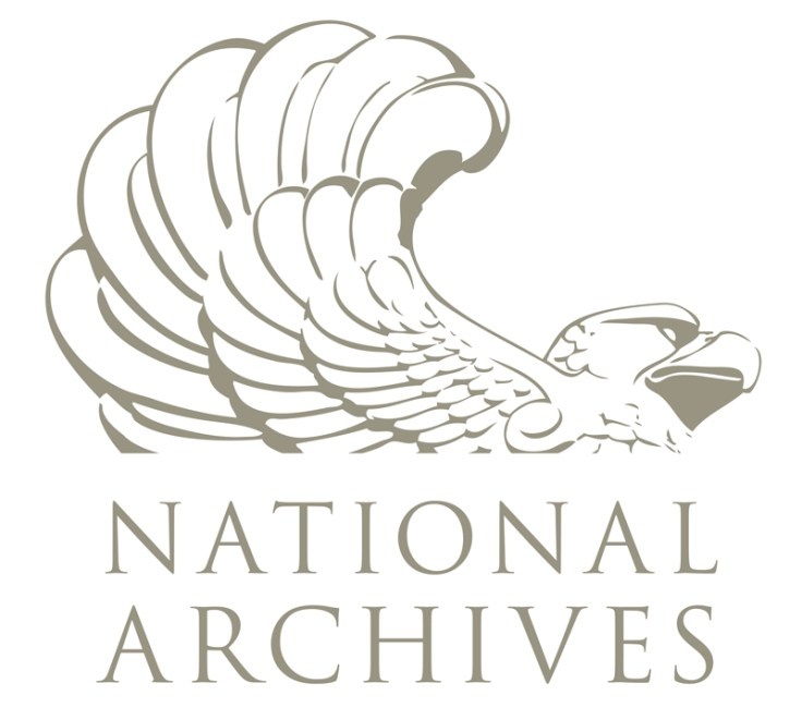 United States national Archives logo. You can find German WWII records at the United States national Archives