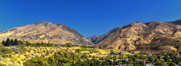 mountains in northern Utah