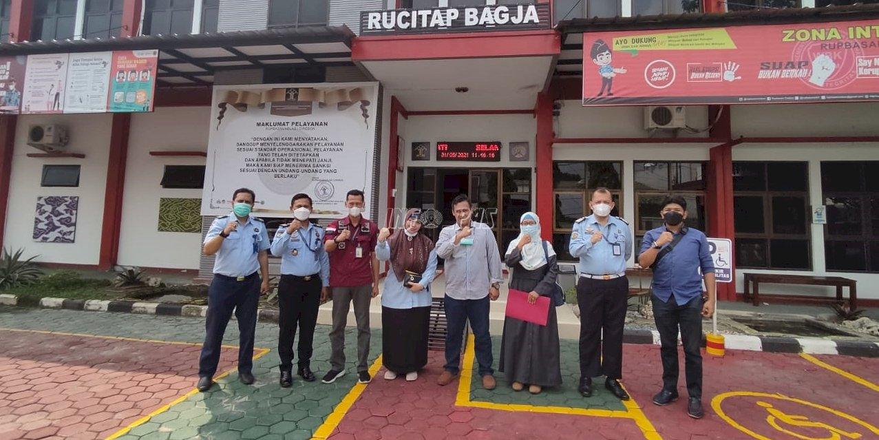 Rupbasan Cirebon-UGJ Bahas Kerja Sama Penerimaan Mahasiswa Baru