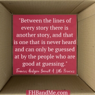 """Between the lines of every story there is another story, and that is one that is never heard and can only be guessed at by the people who are good at guessing."""""""