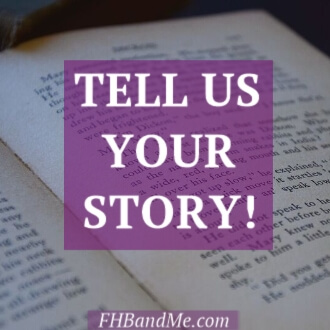 Do you love Frances and her Books too? How did they move you, change you, or even rescue you? Did her words speak to you? What did they say? These are the stories we want to share on FHB and Me! The stories about how mere words can impact a person. We can't wait to read them and perhaps, with your permission, share them with the rest of the FHB and Me family so they can be inspired too!