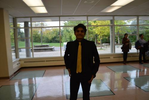 Sandeep Niranjan: Which teacher inspired you the most to take the career path you wanted to go into too? Well it may be indirect but I suppose Ms. Dalamba definitely made a huge contribution to what I chose and what I wanted to do in my future. She didn't really affect my decision for law but more so pursuing a degree that really helps me be more enthusiastic about what I want to do. She also helped me with presenting and speaking and become more socially strong and adaptable to any situation.