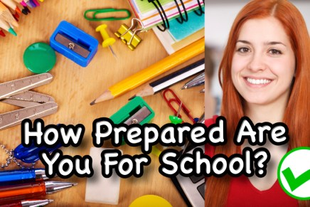 How Prepared Are You For School? (Compared to Other FHCI Students)