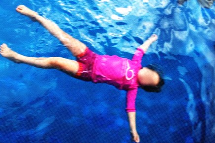 The Time I Almost Drowned in a Pool